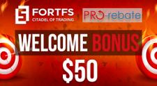Fort financial services 和 pro-rebate 一起宣布了 雙倍獎金