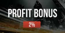 Start of a new FortFS bonus offer PROFIT BONUS